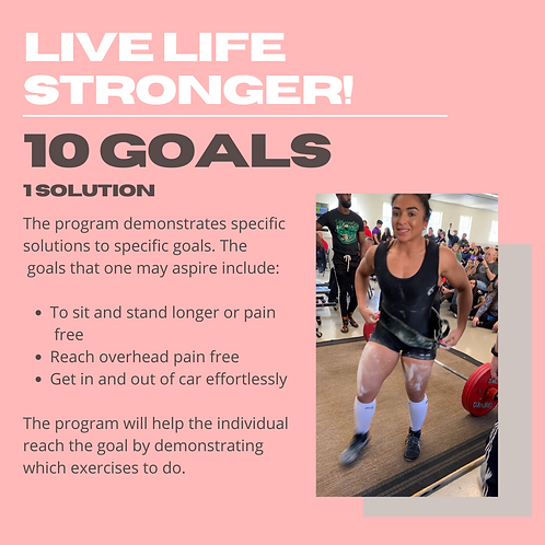 10 Common Life Goals and Exercises For Them!