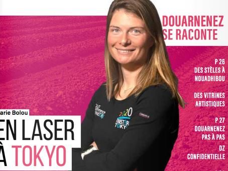 Marie Bolou en Laser à Tokyo