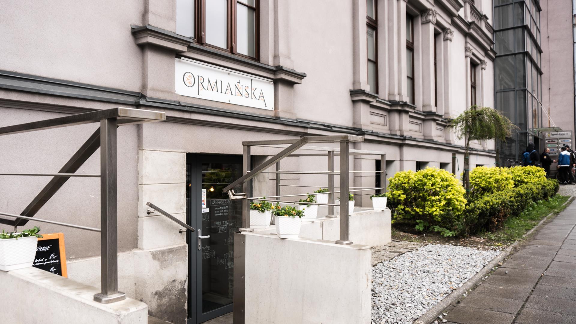 Restauracja Ormianska W Gliwicach