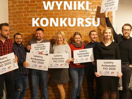 Wyniki konkursu FIO Śląskie Lokalnie 2020