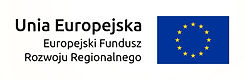 logo unia europejska, europejski fundusz rozwoju regionalneg