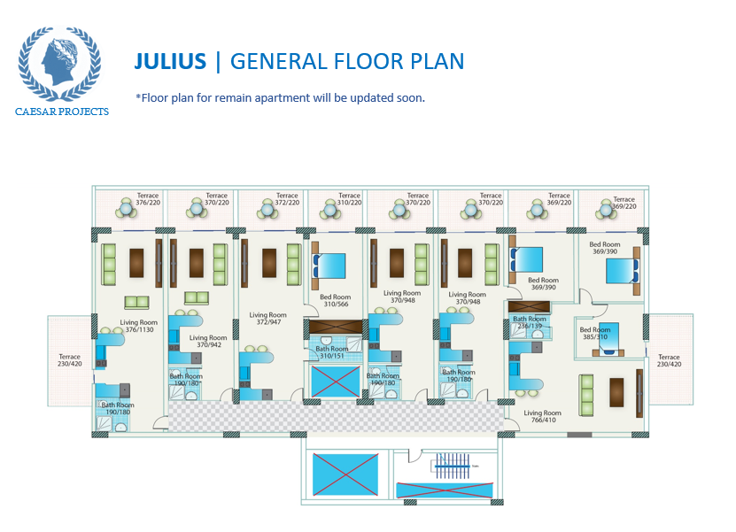 Caesar-resort-Julius-floor-plan
