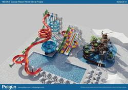 Aqua park aesar Blue
