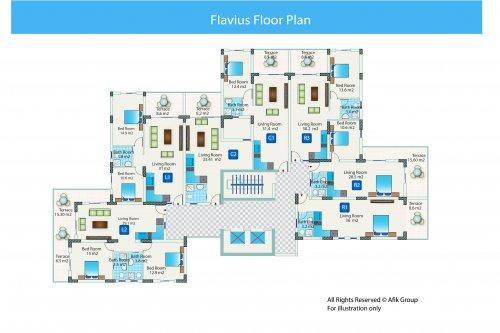 Flavius-block