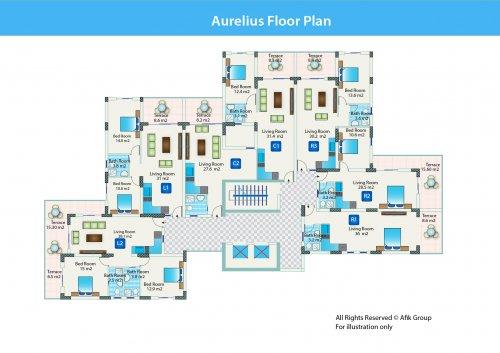 Aurelius-поэтажный_план