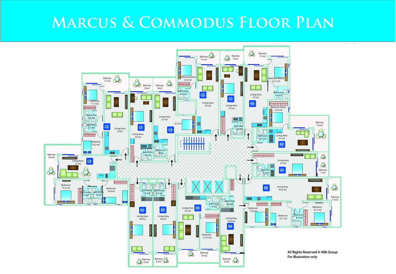Marcus-Commodus-поэтажный_план