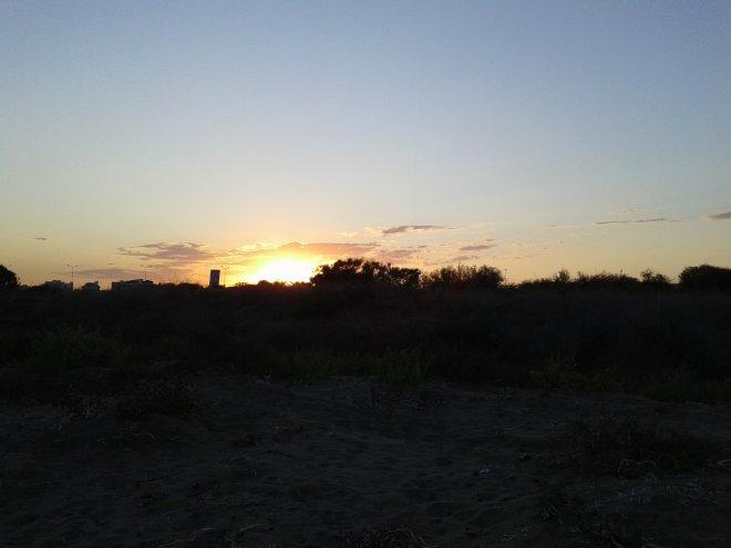Искеле-Лонг бич-закат
