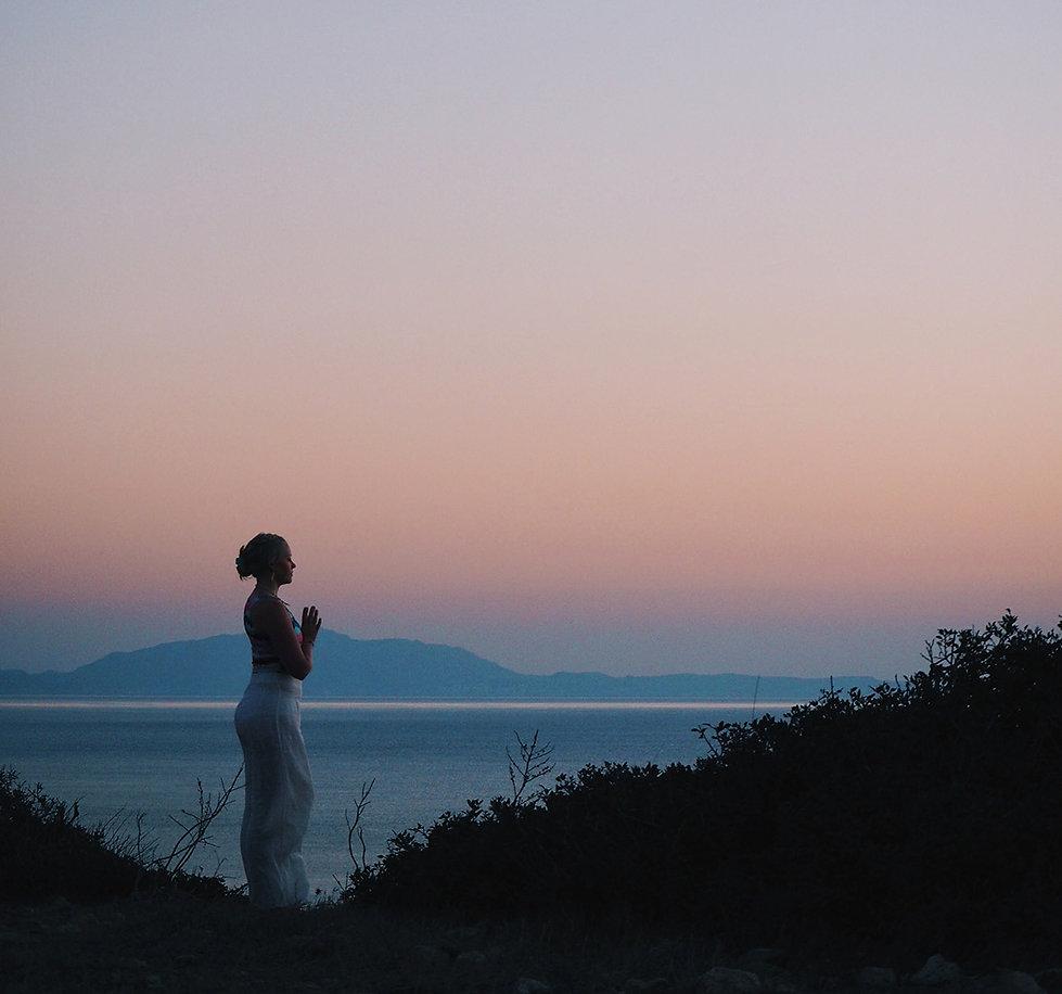 Sunrise in Rhodos