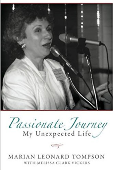 Passionate Journey My unexpected life - Marian Tompson