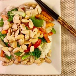Chicken Almonding