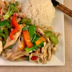 Chicken Lomein
