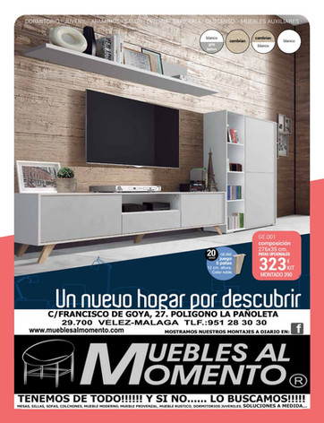 Folleto de promociones