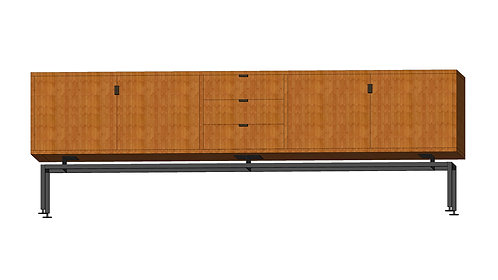 Dean Cabinet 200 4 Doors 3 Drawers Teak
