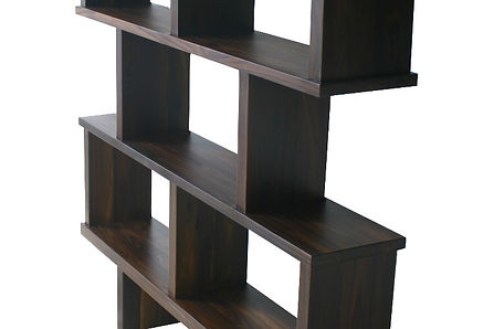 French series bookcase rosewood atom58 vintage inspired