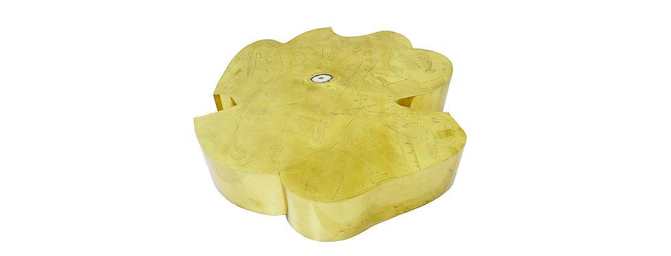 flower brass coffee table belgali.jpg