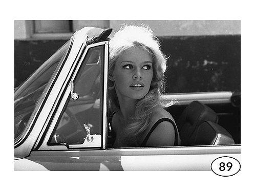 Vintage Picture Brigitte Bardot nr89 (90x60cm)