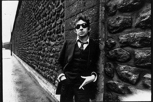 Serge Gainsbourg Wall Nr 44Alu panel