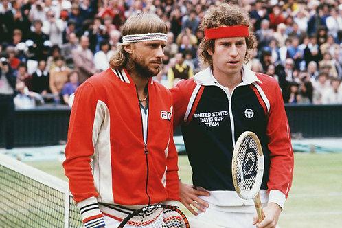 Bjorn Borg & John McEnroe 1980 Nr 59 Alu panel
