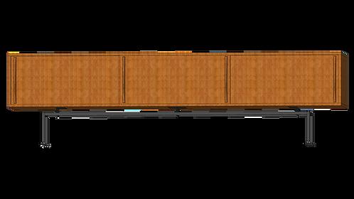 Dean Cabinet 240 3 Sliding Doors Teak