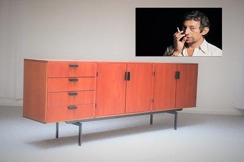 Vintage Dutch design Sideboard XL -  4 doors & 4 drawers
