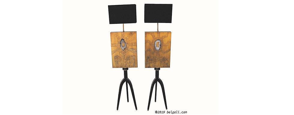 couple wooden tripod lamps by studio belgali.jpg