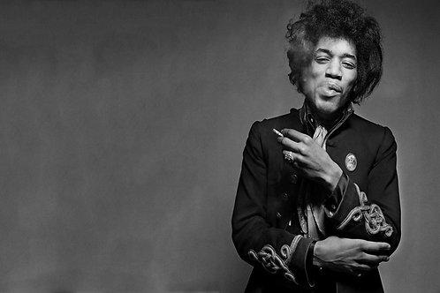 """James Marshall """"Jimi"""" Hendrix Nr 88 Alu panel"""