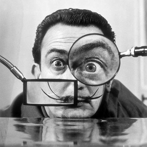 Salvador Dalí Nr 10 Alu panel