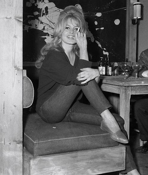 Brigitte Bardot Good Vibes Nr 117 Alu panel
