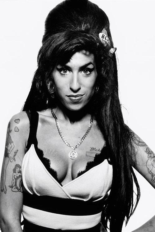 Amy Winehouse Jazz Glamour Nr  114 Alu panel