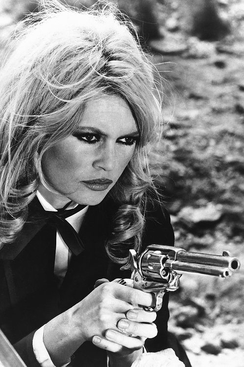 Brigitte Bardot Gun Vertical Nr 83 Alu panel