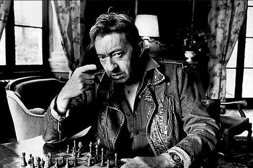 Serge Gainsbourg  Chess Nr 41 Alu panel