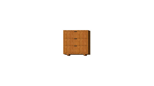Dean Rack 40 3 Drawers Teak