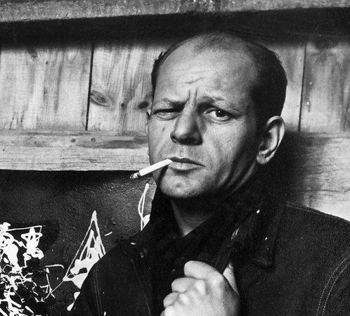 Jackson Pollock Cigarette Nr 19 Alu panel