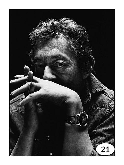 Vintage Picture Gainsbourg nr21 (60x90cm)