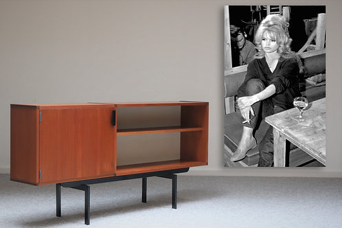 Vintage Dutch design open Sideboard - Made to Messure
