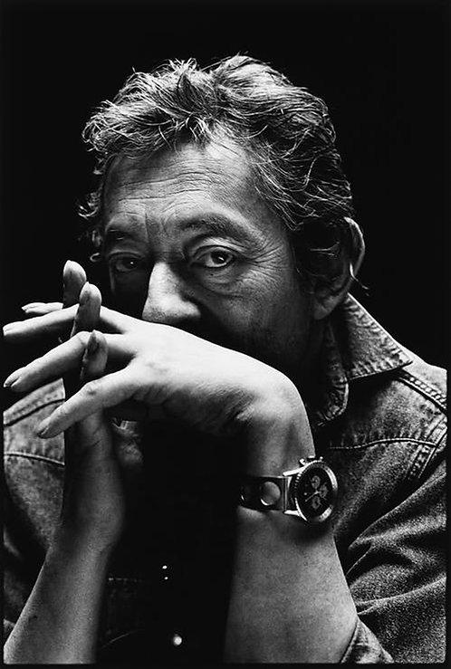 Serge Gainsbourg Watch Nr 21 Alu panel