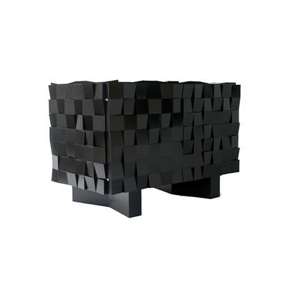 Mosaic Acacia Black 2 Doors