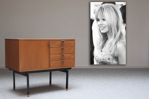 Dean Cabinet 80 1D + 4 drawers Teak