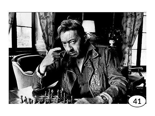 Vintage Picture Serge Gainsbourg nr41 (90x60cm)