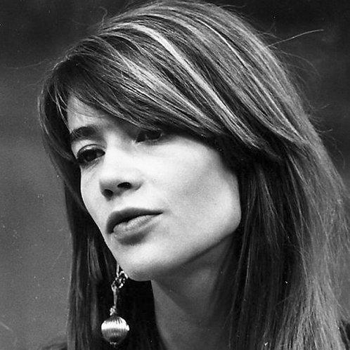 Françoise Hardy Earring Nr 26 Alu panel