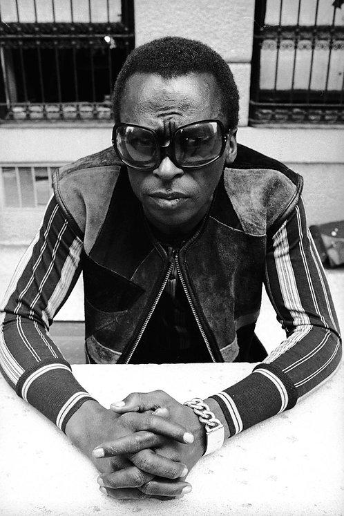 Miles Davis Sunglaces Nr 98 Alu panel