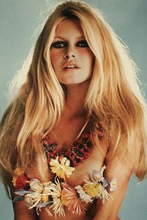 Brigitte Bardot Flower Magic Nr 30 Alu panel