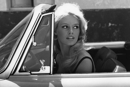 Brigitte Bardot in Cabriolet Nr 89 Alu panel