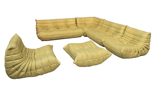 TOGO Ligne Roset Big Set in Chartreuse