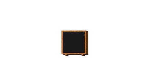 Dean Cabinet 40 1 Doors Black