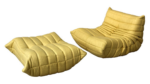 TOGO Ligne Roset Small Set in Cordoba Chartreuse