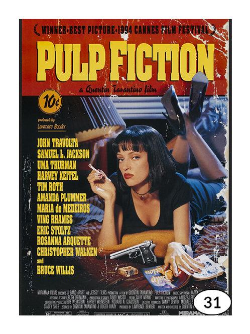 Vintage Advertising Pulp Fiction nr31 (60x90cm)