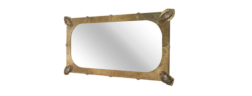 Belgali agate brass mirror.jpg