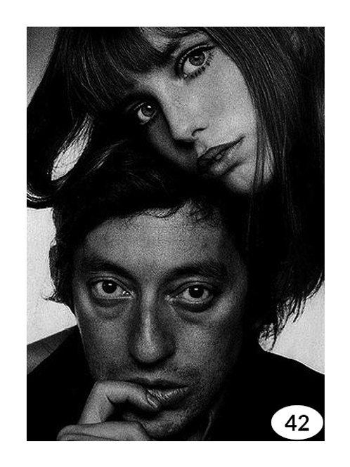 Vintage Picture Serge Gainsbourg nr42 (60x90cm)