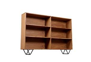 aris bookcase atom58